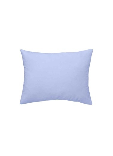 Maki %100 Pamuklu 2 Adet 50x70 Yastık Kılıfı Açık Mavi Mavi